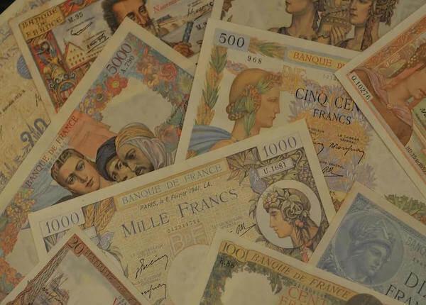 expertise de billets - numismatique cabon sur bordeaux et libourne